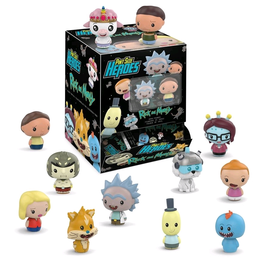 Rick and Morty: Pint Size Heroes - Mini-Figure (Blind Box) image