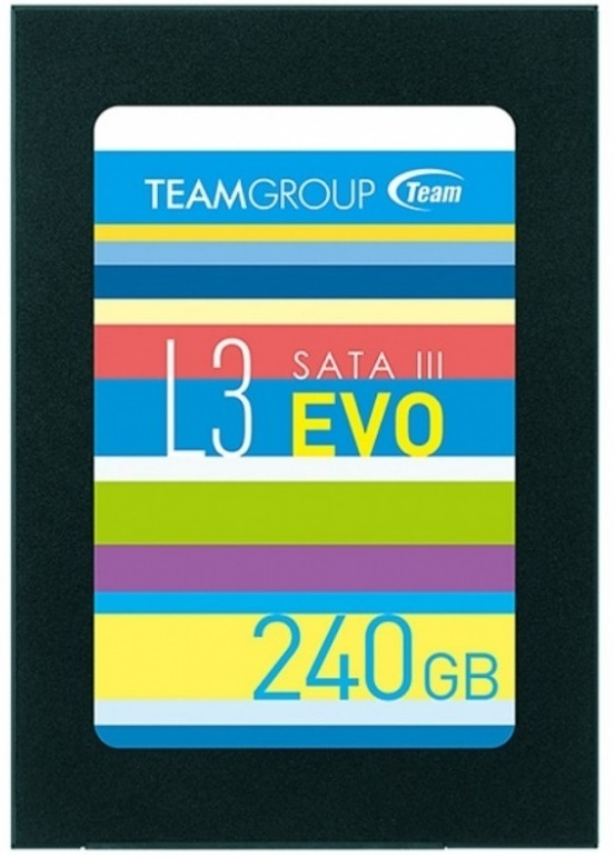 """240GB Team L3 EVO SATA III 2.5"""" SSD"""