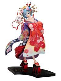 Re:ZERO: 1/7 Rem -Oiran Dochu - PVC Figure