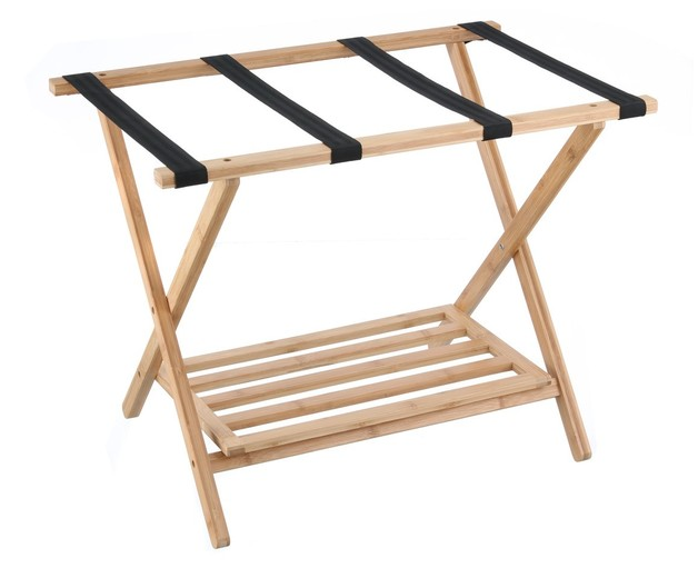 L.T. Williams - Bamboo Luggage Rack
