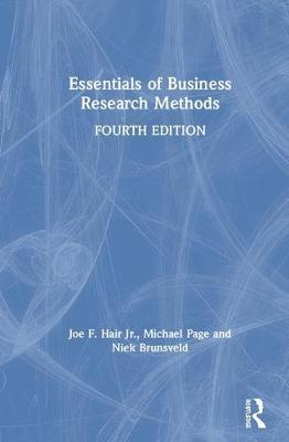Essentials of Business Research Methods by Joe F. Hair Jr.
