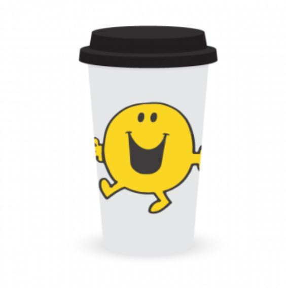 Mr. Men Little Miss: Travel Mug: Mr Happy