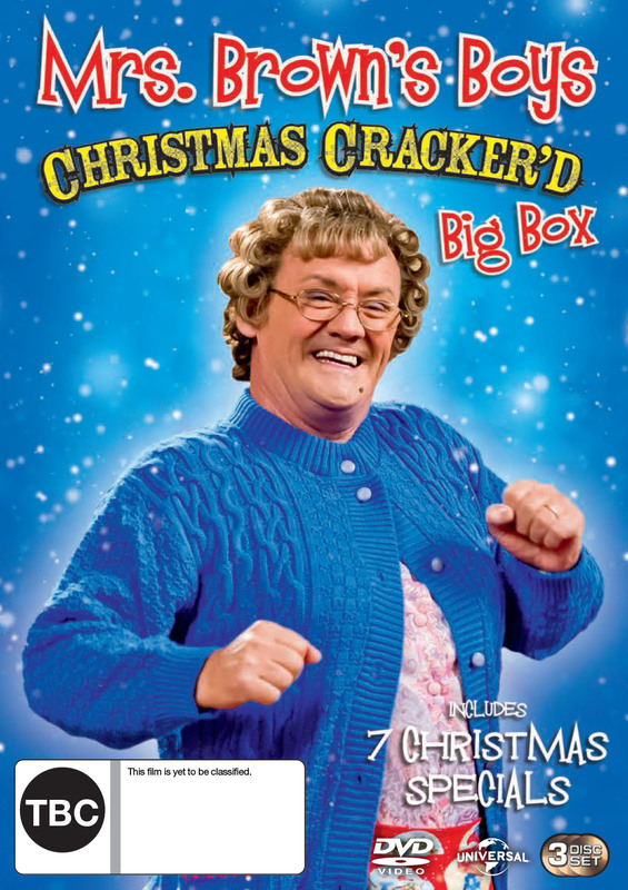 Mrs Browns Boys Complete Crackers on DVD