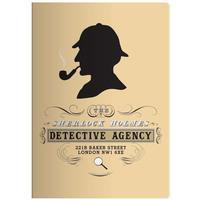 Unemployed Philosophers Guild - Sherlock Holmes Large Notebook