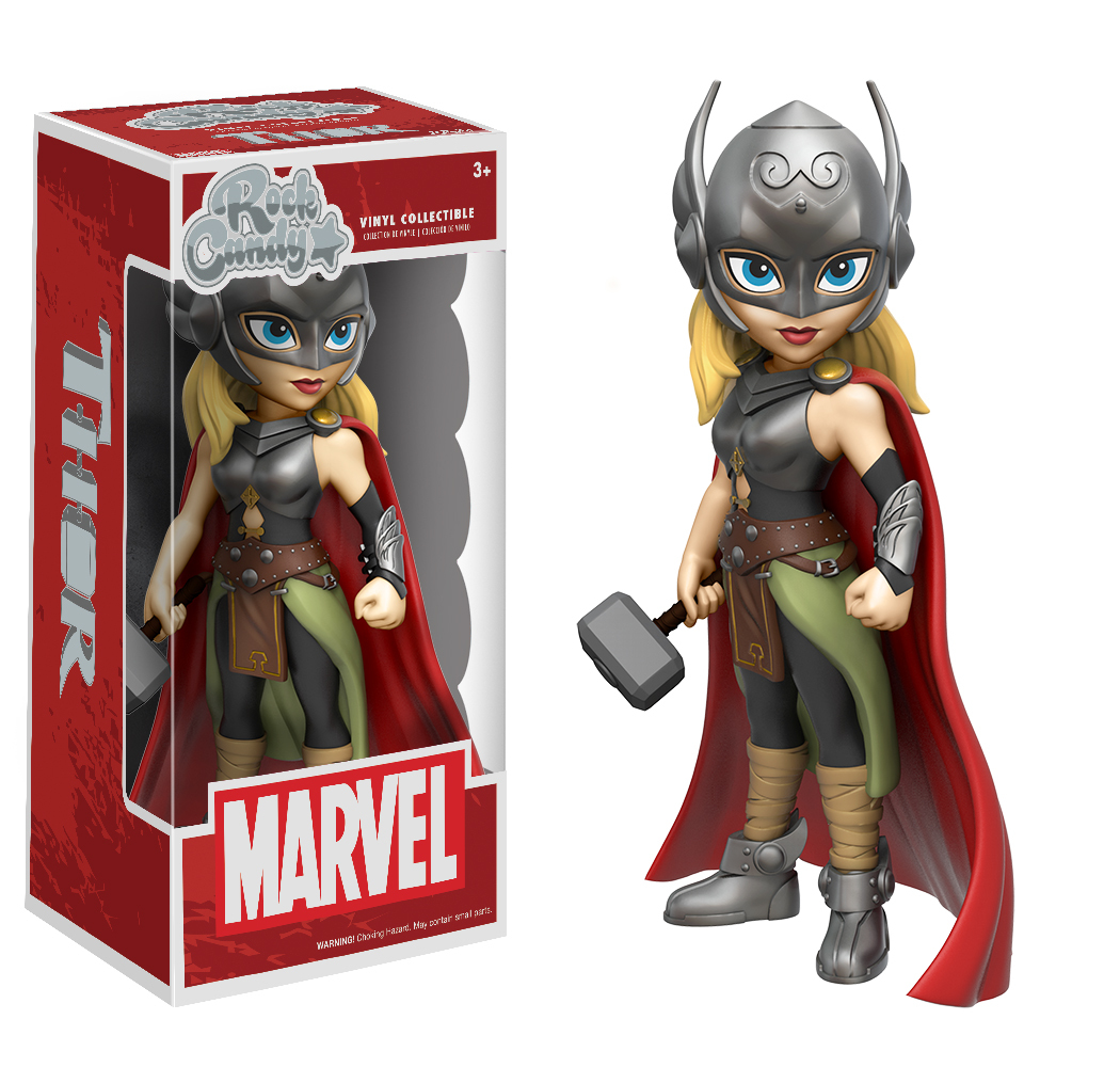 Marvel – Lady Thor Rock Candy Vinyl Figure image