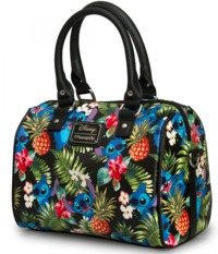 Loungefly Disney Stitch Hawaiian Print Hand Bag