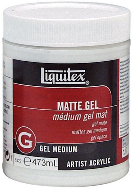 Liquitex: Matte Gel Medium (473ml) image