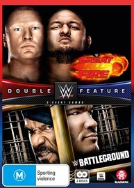 WWE: Great Balls Of Fire / Battleground 2017 (Double Feature) on DVD