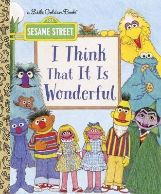 I Think That It Is Wonderful: Sesame Street by David Korr image