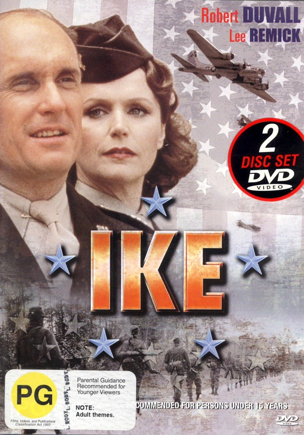 Ike (2 disk set) on DVD image