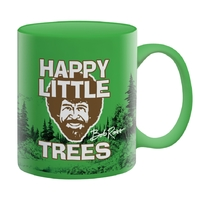 Bob Ross - Happy Little Trees Ceramic Mug