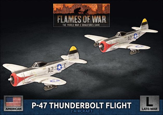 Flames of War - P-47 Thunderbolt Flight