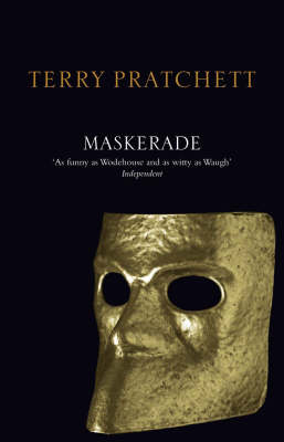 Maskerade (Discworld - The Witches) (black cover) by Terry Pratchett image