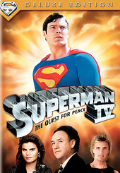 Superman IV - The Quest For Peace: Deluxe Edition on DVD