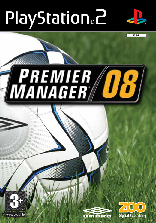 Premier Manager 08 for PlayStation 2