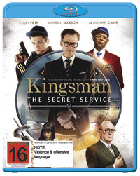 Kingsman: The Secret Service on Blu-ray