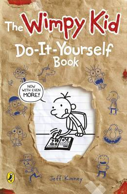 Diary of a Wimpy Kid: Do-It-Yourself Book by Jeff Kinney image