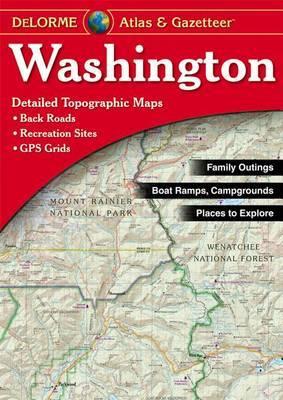Washington Atlas and Gazetteer by Rand McNally image