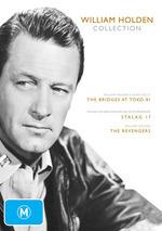 William Holden Collection (Bridges At Toko-Ri / Stalag 17 / Revengers) (3 Disc Set) on DVD