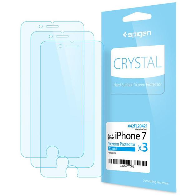 Spigen: iPhone 7 - Screen Protector Pack