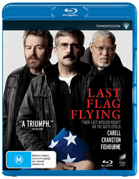 Last Flag Flying on Blu-ray