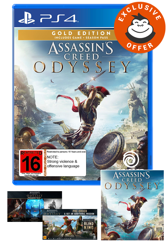 Assassin's Creed Odyssey Gold Edition for PS4 image