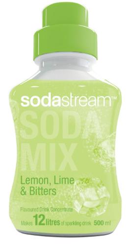 SodaStream Lemon, Lime & Bitters - 500ml Syrup