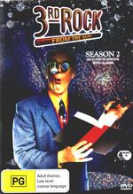 3rd Rock From The Sun Season 2 on DVD