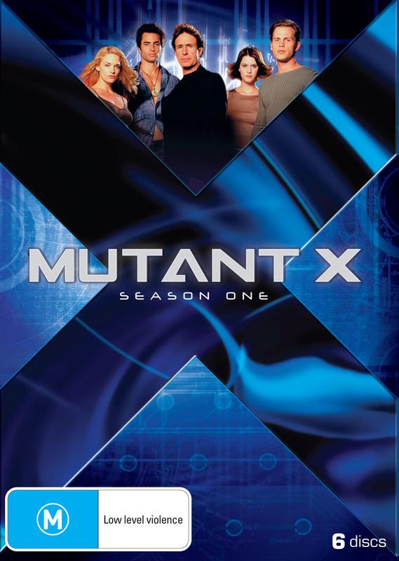 Mutant X - Season 1 (6 Disc Set) on DVD