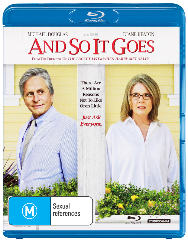 And So It Goes on Blu-ray