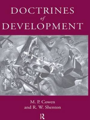 Doctrines Of Development by M P Cowen image