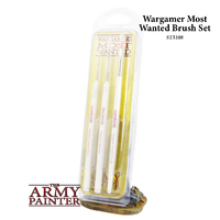 Army Painter Wargamer Most Wanted Brush Set