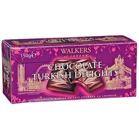 Walkers Chocolate Turkish Delight Thins (150g)