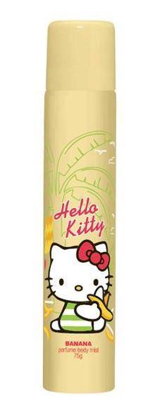 Hello Kitty Bodyspray - Banana Body Mist (75g) image