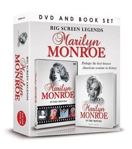 Big Screen Legends: Marilyn Monroe (Book & DVD Set) by Timothy Knight