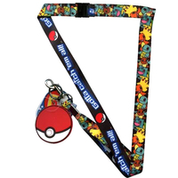 Pokemon Pokeball Lanyard