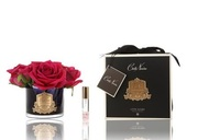 Côte Noire Perfumed Natural Touch Roses (Carmine Red - Black)