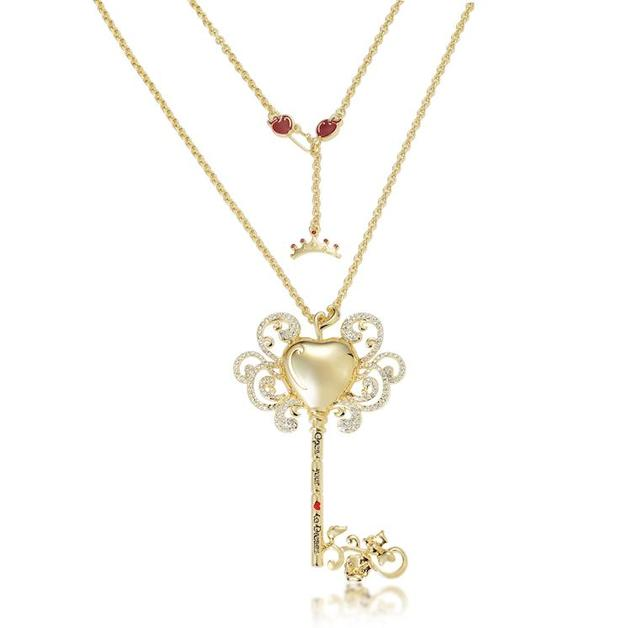 Couture Kingdom: Disney - Princess Snow White Necklace (Yellow Gold)