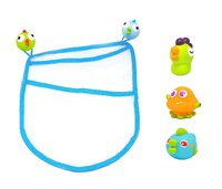 Escabbo: Ocean Bath Bag & Squirters (4-Piece Set)