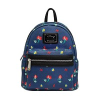 Loungefly: Ariel All-Over Print - Mini Backpack