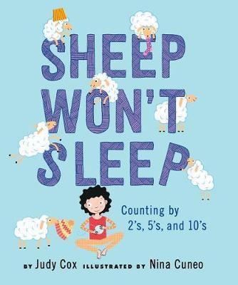Sheep Won't Sleep by Judy Cox image