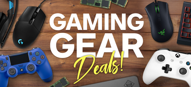 August Gaming Gear deals!