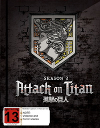 Attack On Titan: Season 3 - Part 1 (Eps 38-49) - [Limited Edition] on Blu-ray image