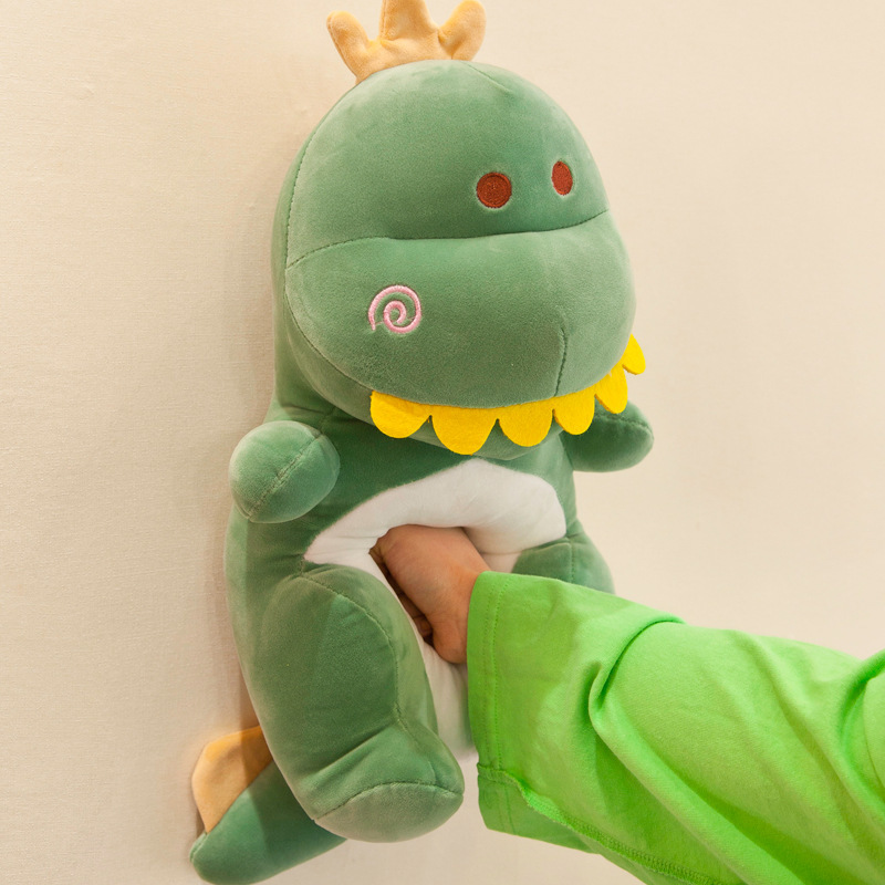 Gorilla: Dino Showing Teeth Plush - Green (30cm) image