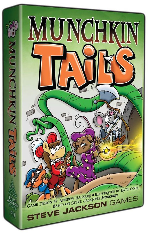 Munchkin: Tails - Card Game