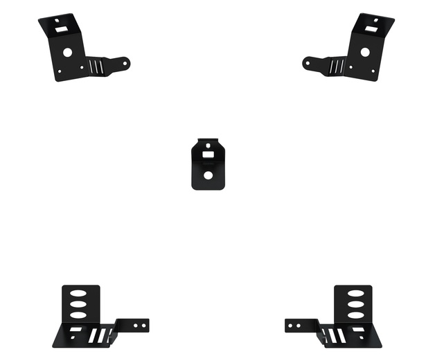 Trak Racer TR8 Speaker Mounts (5pcs) for