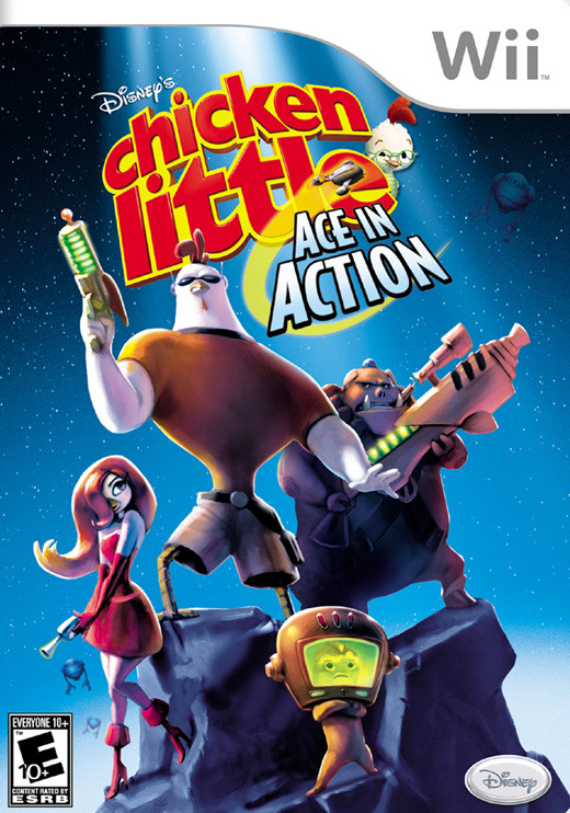 Chicken Little: Ace in Action for Nintendo Wii