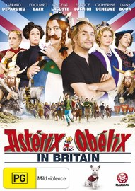 Asterix & Obelix in Britain on DVD