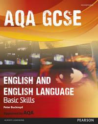 AQA GCSE English and English Language Student Book: Improve Basic Skills by Peter Buckroyd image