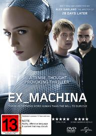 Ex Machina on DVD